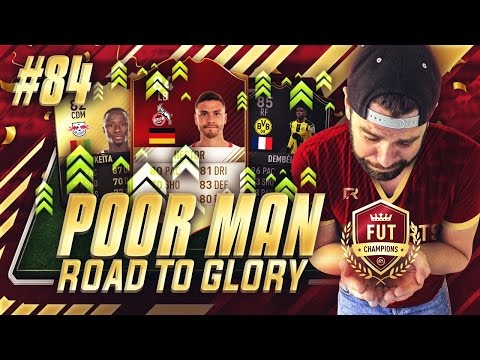 INSANE CLUB UPGRADES!!!! FUT CHAMPIONS 21-40!! - Poor Man RTG #84 - FIFA 17 Ultimate Team