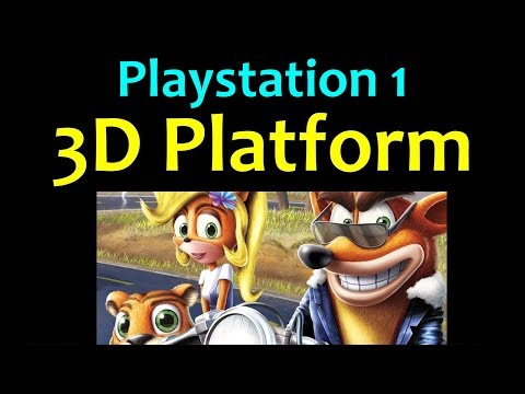 10 Awesome PS1 3D Platform Games 😍 Video 1 ... (Gameplay)