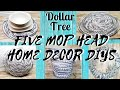 FIVE AWESOME DIY DOLLAR TREE MOP HEAD HOME DECOR IDEAS || MUST SEE THIS!!