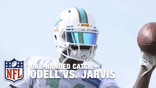 Jarvis Landry Catches EVERYTHING One-Handed: Broccoli, Shoes and MORE! | NFL