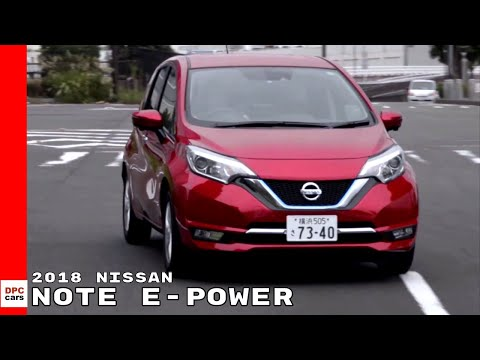 City Driving With 2018 Nissan NOTE e-POWER