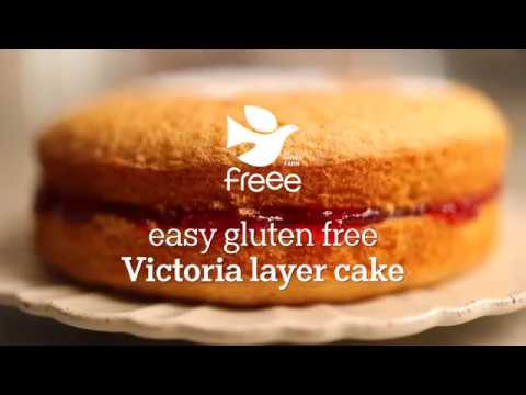 Easy Gluten Free Victoria Layer Cake | FREEE By Doves Farm