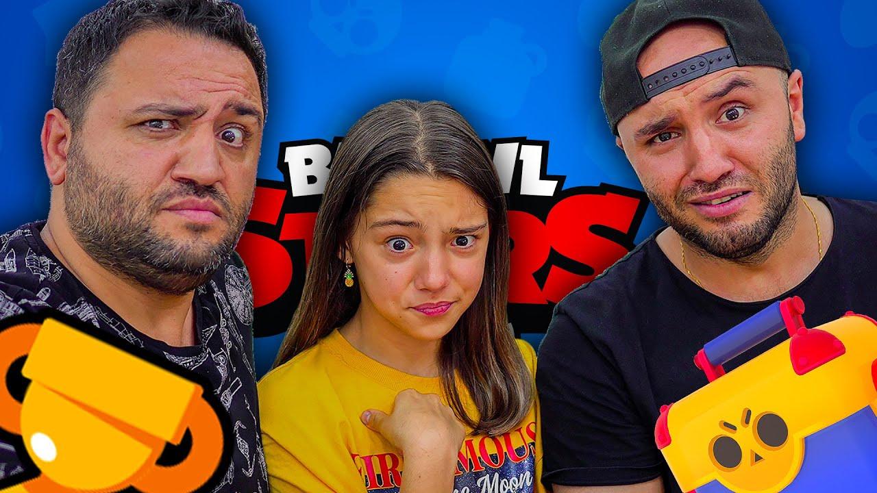 Yeğenim Oyuncax Tv Melike ve Abim İle Mega Kutu Açılımı - Brawl Stars