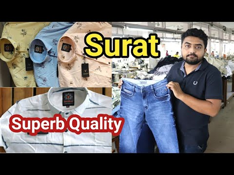Surat Wholesale Market / Jean's and shirts