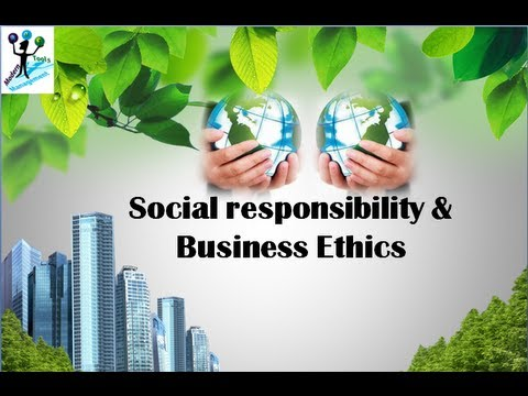 Social Responsibility  Business Ethics  Youtube