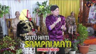 DHIMAS TEDJO - SATU HATI SAMPAI MATI / SGR CAMPURSARI GUNUNGKIDUL #SPPRODUCTION
