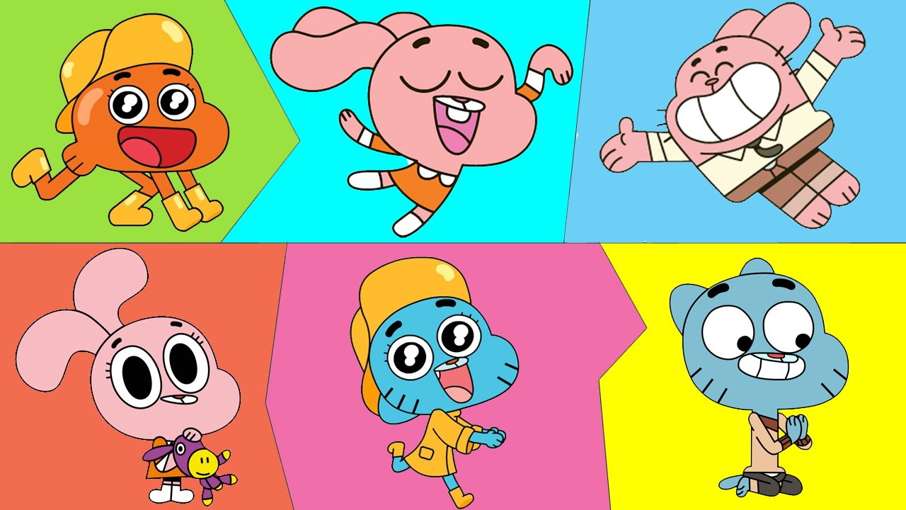 Gumball Coloring Pages For Kids