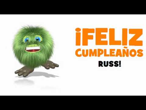 Joyeux Anniversaire Russ Youtube