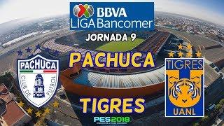 PES 2018   Pachuca vs Tigres   Jornada 9 Liga Mx   Gameplay PC