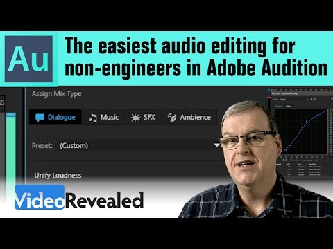 The easiest audio editing for non-engineers in Adobe Audition