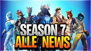 *NEU* Season 7 Battle Pass News, New Items & Trailer - Fortnite News