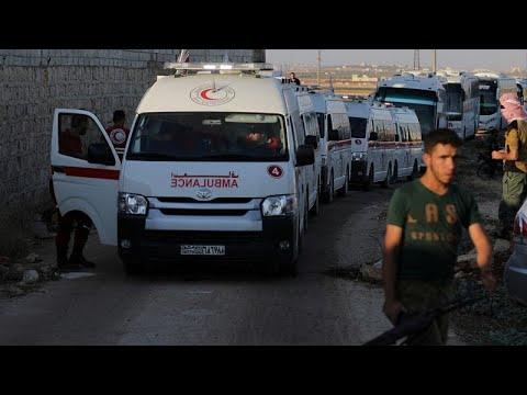 الإخبارية السورية: خروج كامل الحافلات من كفريا والفوعة لتصبح البلدتان خاليتين من المدنيين…  - نشر قبل 1 ساعة