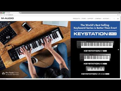 M-audio Keystation MK3 | Complete Download and Setup with Pro Tools First