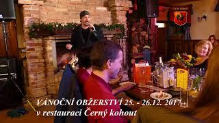 Bohuš Matuš-Benefiční vánoční večírek v restauraci Černý kohout