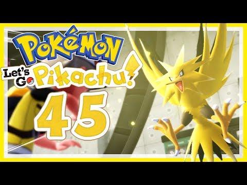POKÉMON LET'S GO, PIKACHU! # 45 ⚡ Zapdos im verlassenen Kraftwerk! • Pokémon: Let's Go, Pikachu
