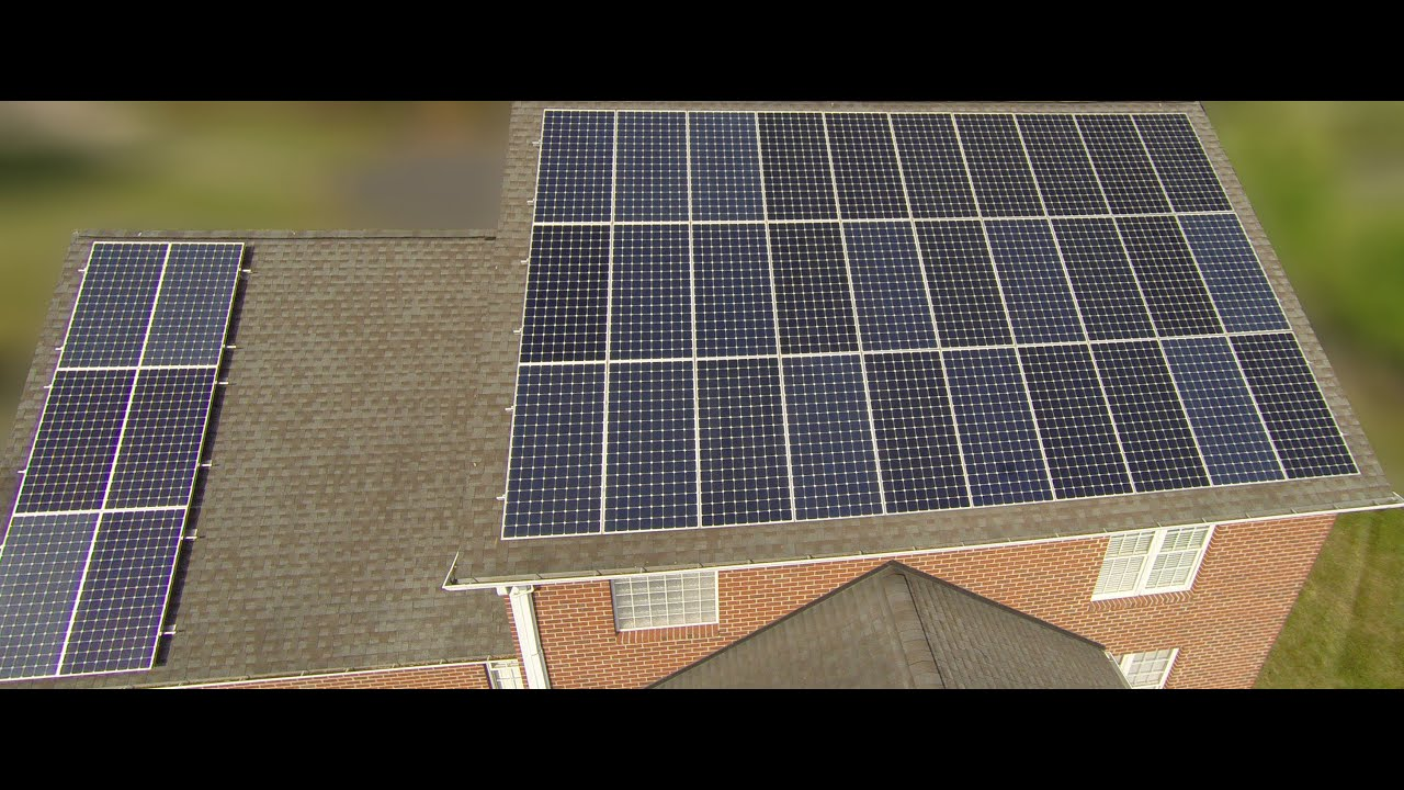 How to install a solar system on my roof - Solar Install 15 7kw Roof System Final Compilation Time Lapse Drone Shots Photos Youtube