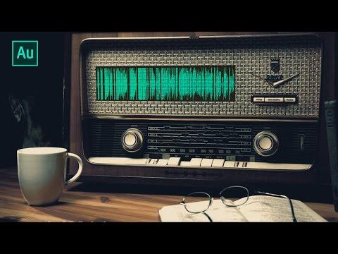 Adobe Audition Tutorial - Suara Radio Jadul (Vintage) [INDONESIA]
