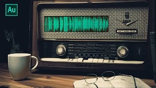 Adobe Audition Tutorial - Suara Radio Jadul (Vintage) [INDONESIA]