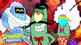 Meet the Plankton's!  | Every Plankton Family Member Ever | SpongeBob