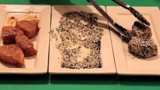 Sesame-crusted Seared Tuna