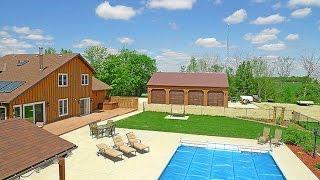 WEST OF ORANGEVILLE – 3 Bedroom, 10 Acres, Workshop, Pond & Pool | MARY KLEIN