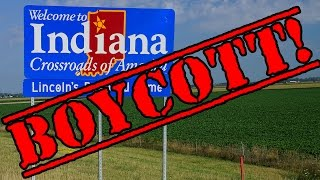 Indiana Boycotted Over Anti-Gay Discrimination Law