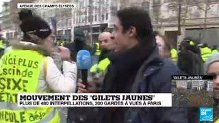 Gilets jaunes : notre envoyé spécial Karim Hakiki revient sur la mobilisation du 8 décembre