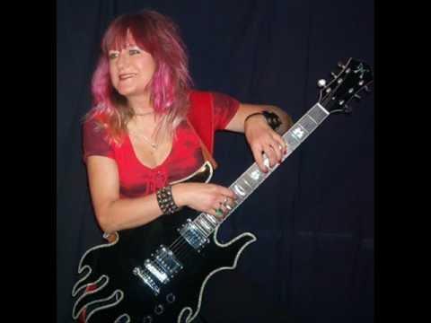 Female Metal Rock Guitarist Shredmistress Rynata