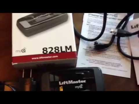 How To Set Up Liftmaster Internet Gateway 828lm