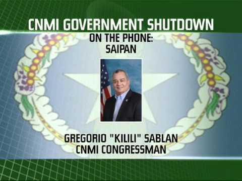 CNMI Government Shutdown