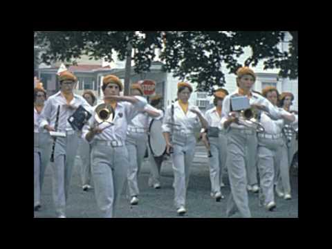 Frackville Pa Bicentennial Parade 1976