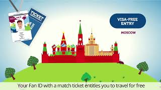 how to get Fan ID for FIFA World Cup 2018 in Russia?