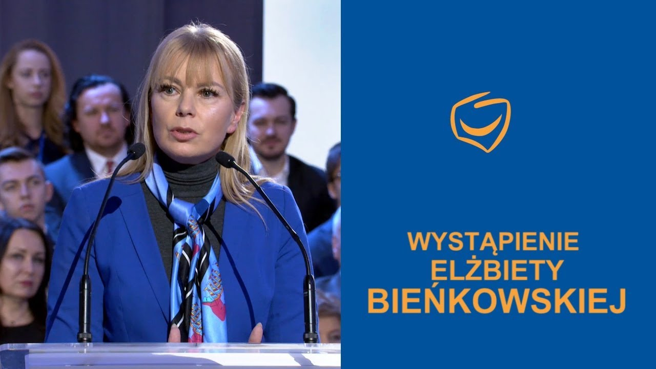 Wystąpienie Elżbiety Bieńkowskiej, Rada Krajowa PO, Warszawa 24.02.2018