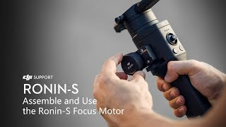 Gambar cover How to Assemble and Use the Ronin-S Focus Motor