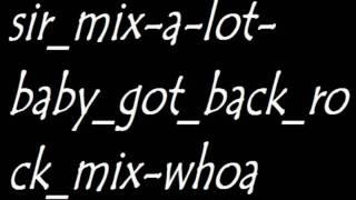 Sir mix a lot - baby got back