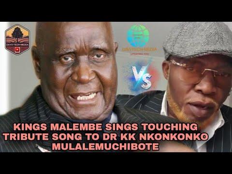 Download Kings Malembe Sings Tribute Song To Dr KK Touching Song Nkonkonko Mulalemuchibote @Davi-tech-media