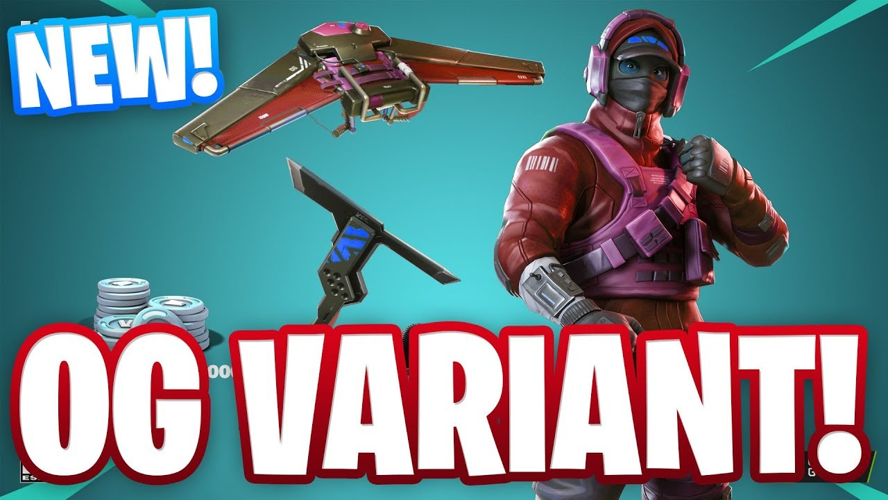 NEW OG VARIANT FOR NVIDIA COUNTERATTACK SET OWNERS IN FORTNITE!