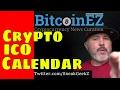 Cryptocurrency ICO Calendar