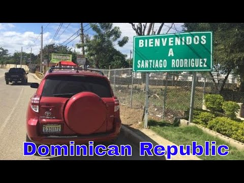 Driving Downtown - Santiago Rodriguez - Dominican Republic