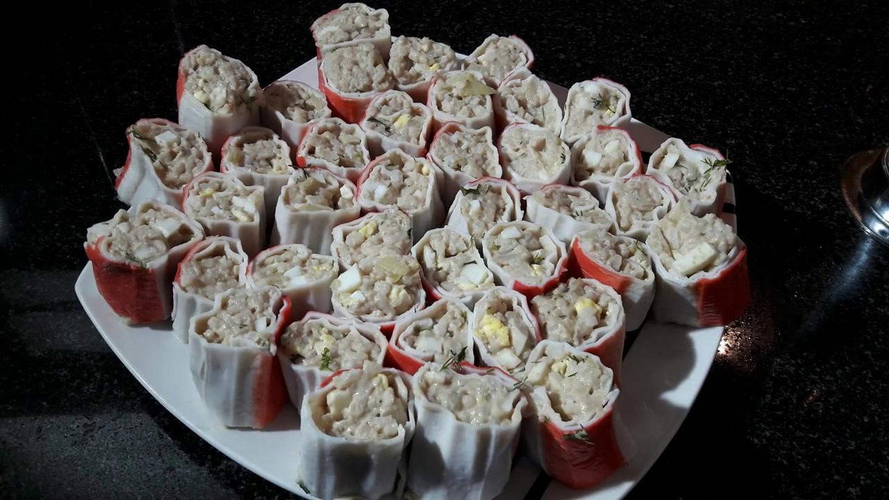 Салат крабовые палочки печень трески