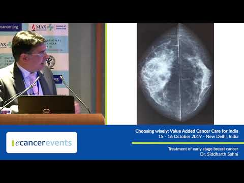 Treatment of early stage breast cancer