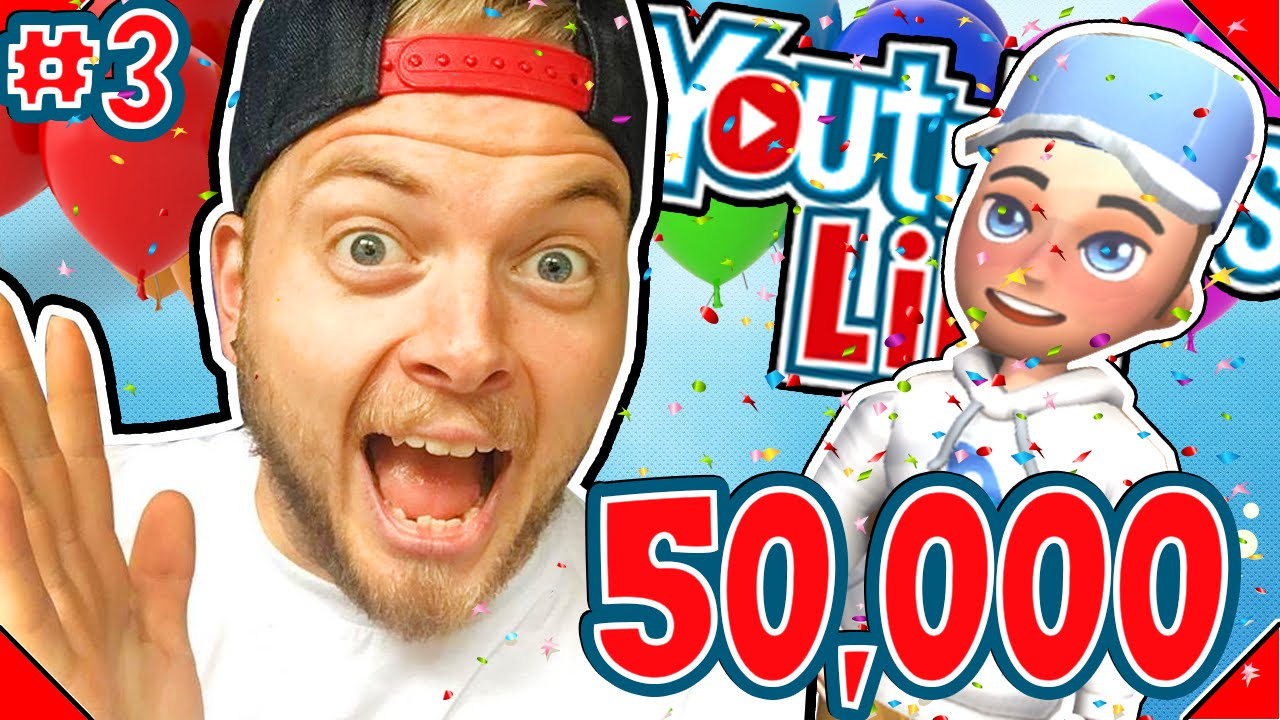 Download : 50,000 SUBSCRIBERS! YOUTUBERS LIFE! 3 | Gameplay