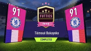FUTTIES WINNER BAKAYOKO SBC COMPLETED/CHEAP! 91 RATED BAKAYOKO CARD!