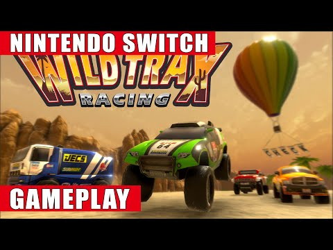 WildTrax Racing Nintendo Switch Gameplay