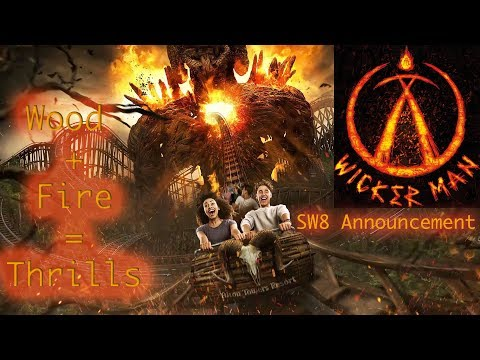 Official Wicker Man SW8 Alton Towers Announcement