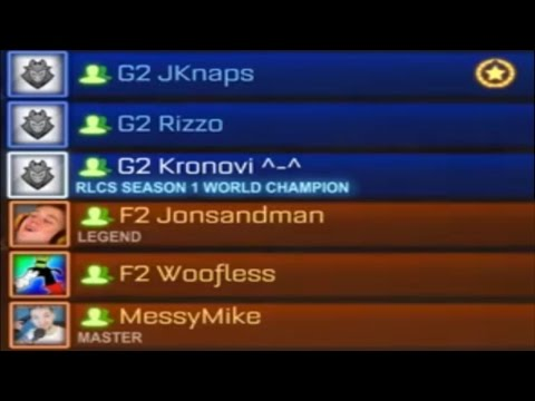 G2 vs F2   THE RLCS MATCHES YOU MISSED