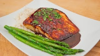 Sweet Soy Salmon - Valentines Day - See Recipe