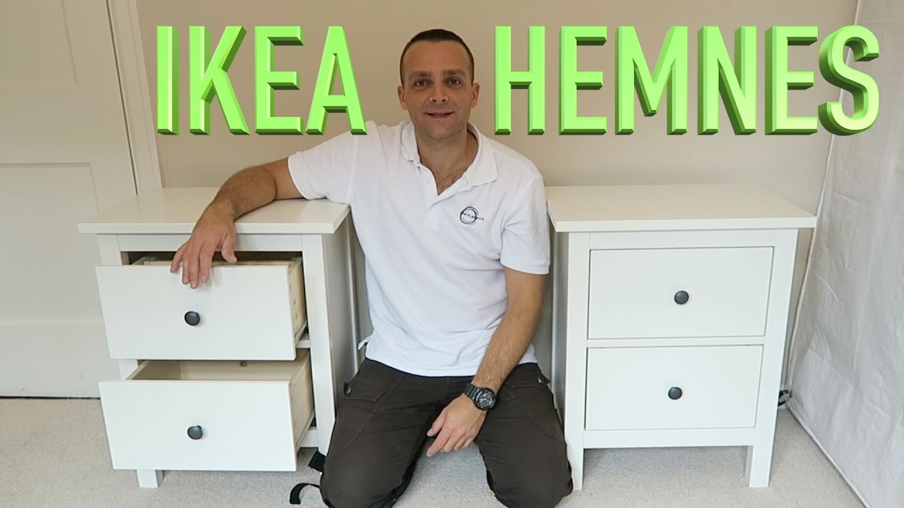 Ikea Hemnes Chest Of 2 Drawers Assembly Youtube