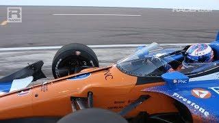 Racer: Scott Dixon On The Indycar Deflector Test