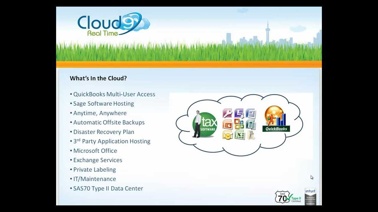 QuickBooks Hosting & Private Accountant Cloud from Cloud9 Real Time
